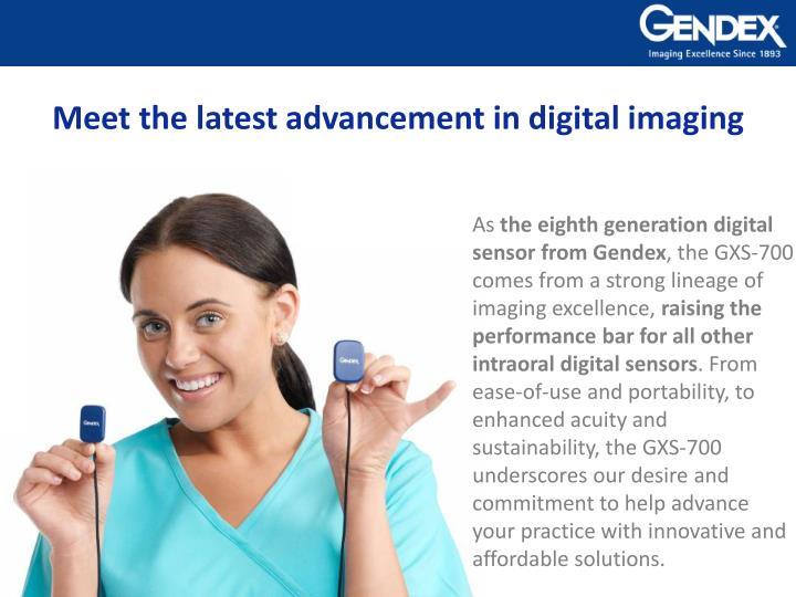 GXS-700 Digital Intraoral Sensors